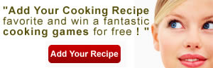 Add your cooking recipe