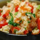 red pepper tomato rice recipe - alain ducasse recipe